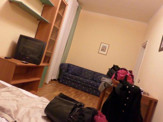 Central Hotel Tiepolo: Stanza