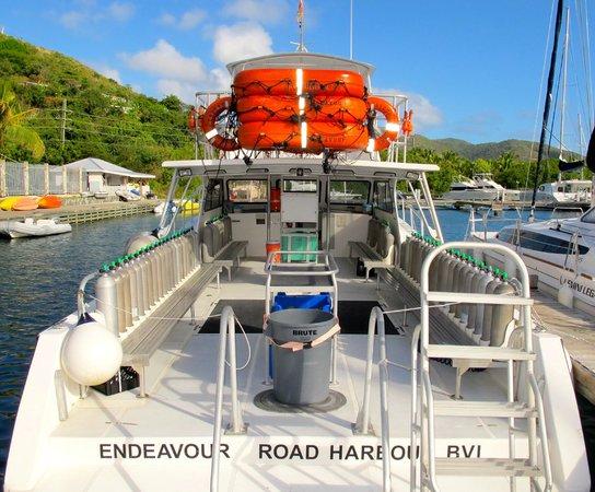 Sail Caribbean Divers : Endeavour