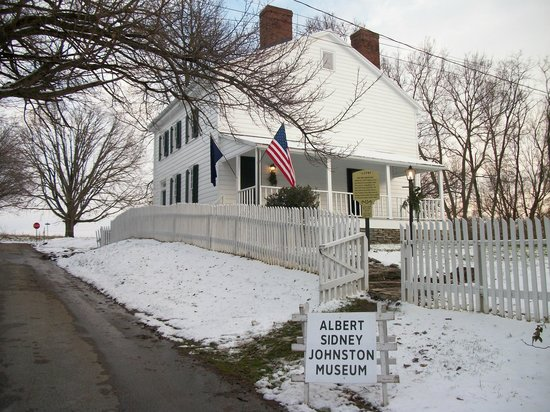 Washington Visitors Center: The Albert Sydney Johnston House and museum