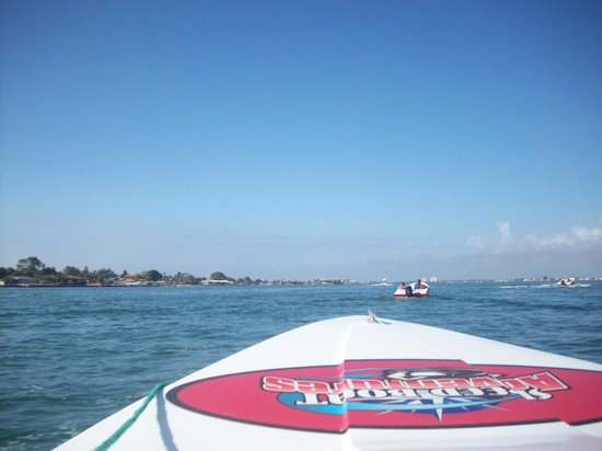 Holiday Inn Hotel & Suites Clearwater Beach South Harbourside : Speed Boat tour