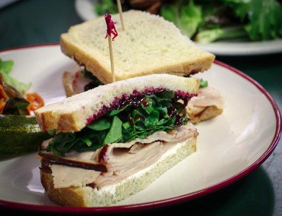 Dish Cafe: Smoked Turkey Sandwich