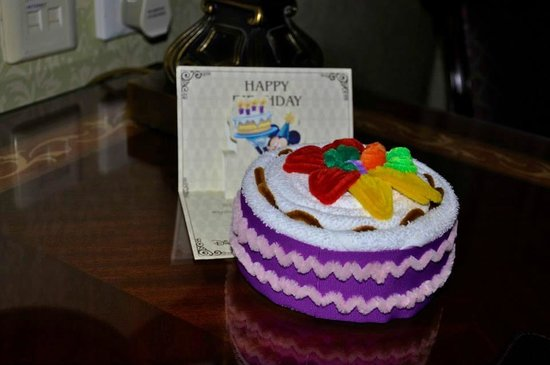 Superb Birthday Card Cake Picture Of Disneyland Hotel Hong Kong Funny Birthday Cards Online Chimdamsfinfo