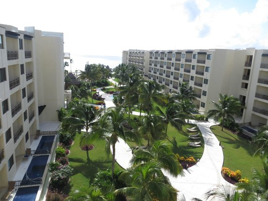 Dreams Riviera Cancun Resort & Spa: view from room