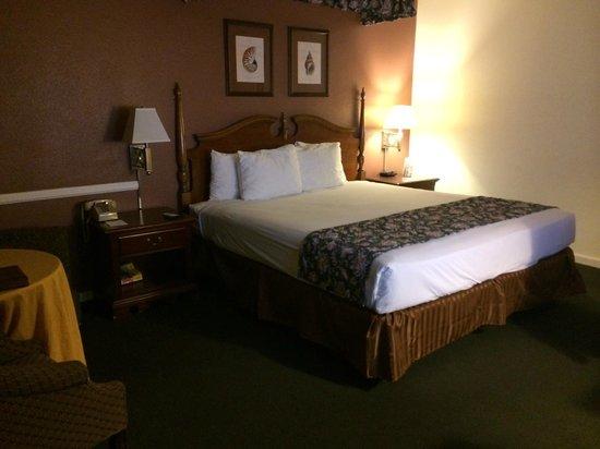 Kings Inn San Diego: View from room door