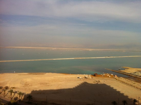 David Dead Sea Resort & Spa : Looking from the balcony