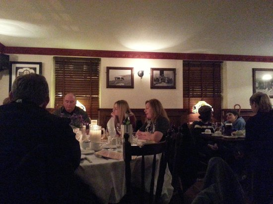 An Evening of Food, Folklore and Fairies: The Dining Area