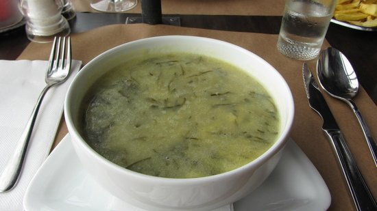 Vila Da Carne: Vegetable soup
