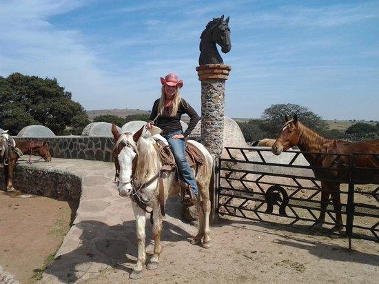 Rancho Las Cascadas - All Inclusive Boutique Resort : Wonderful riding!