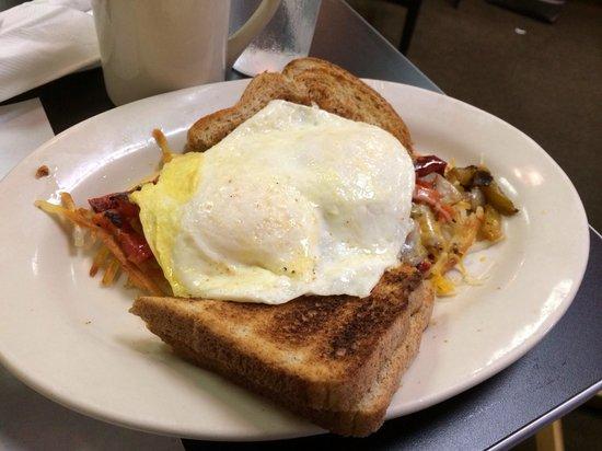 C's Waffles: Yummy veggies lovers mess