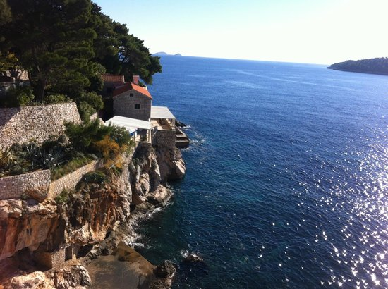 Hotel Excelsior Dubrovnik: View from Bedroom Terrace