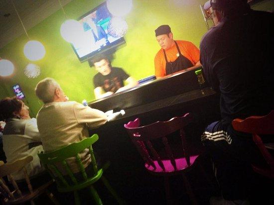 Han the Sushi Man: Sushi chef, Han