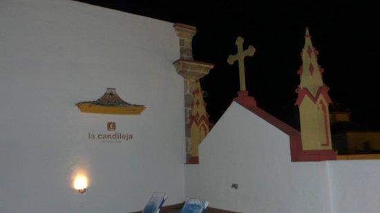 Itaca Hotel Jerez : acogedora terraza