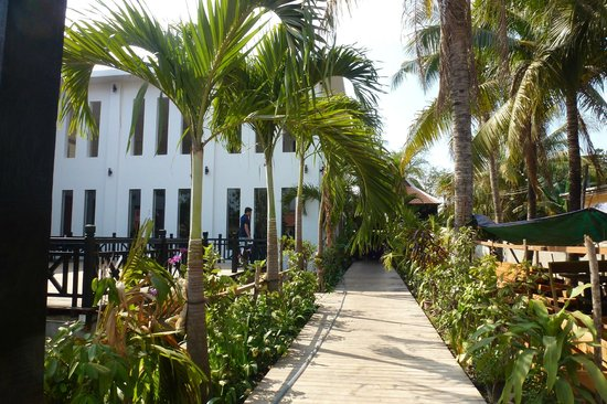 Neary Khmer Angkor: Neary Khmer Restaurant .- le Jardin