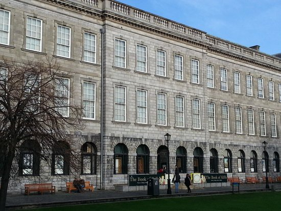 The Book of Kells and the Old Library Exhibition: Trinity Library Housing the Book of Kells