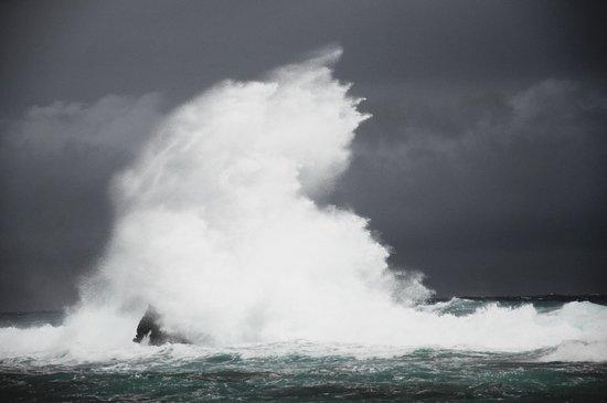 Bananarama Beach and Dive Resort: Stormy Day1