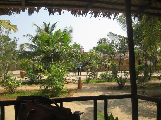 Pirache Village Eco Resorts : Outside View from huts