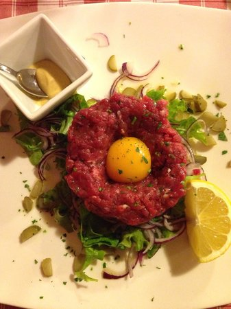 Osteria Pane & Salame : Tartare carnivora! 😍😍😍