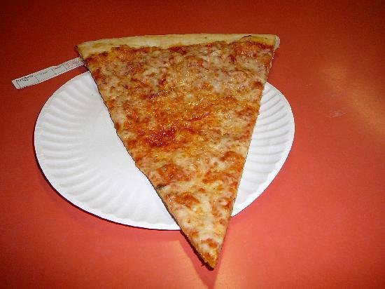 Russo's Pizza & Wings: Cheese Slice