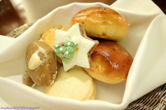 Cascades: scones, cookies