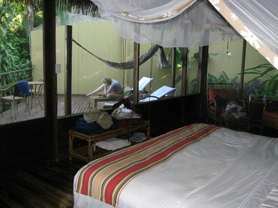 Lapa Rios Ecolodge Osa Peninsula : Rm 10 Deck from Sleeping Area