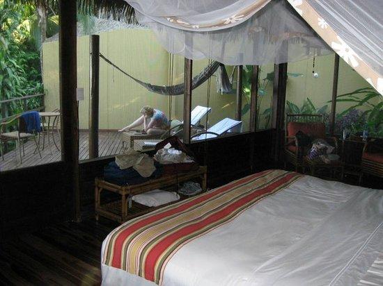 Lapa Rios Ecolodge Osa Peninsula: Rm 10 Deck from Sleeping Area