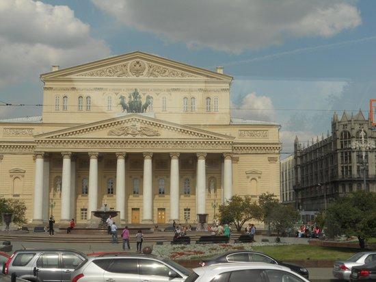 Bolschoi-Theater: la facciata principale del teatro