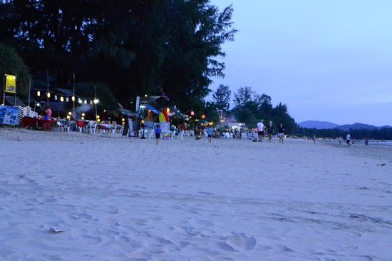 D.R. Lanta Bay Resort: Klog Dao beach