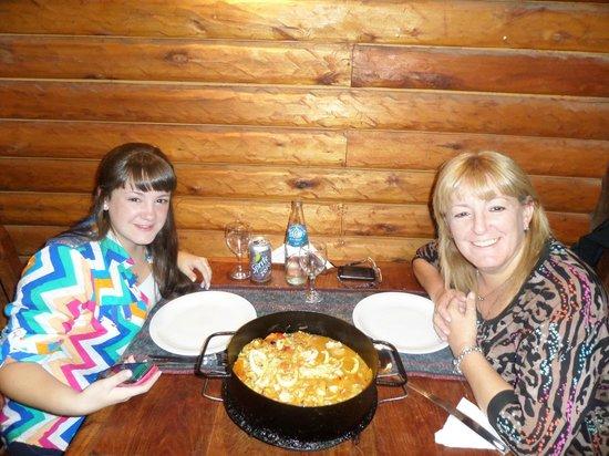 Isabel - Cocina al Disco: la comida