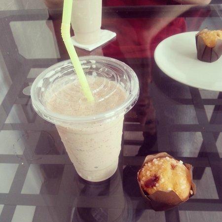 the daily fresh: Milkshake nutella et muffin