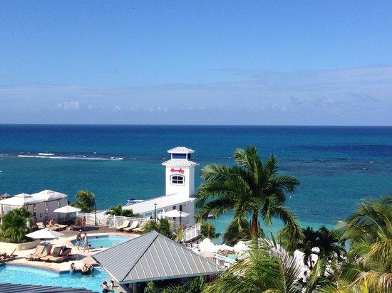 Beaches Ocho Rios Resort & Golf Club : View from the BBQ hut!