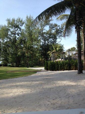 "Renaissance Phuket Resort & Spa : Man made ""Beach"" between the pool and beach"