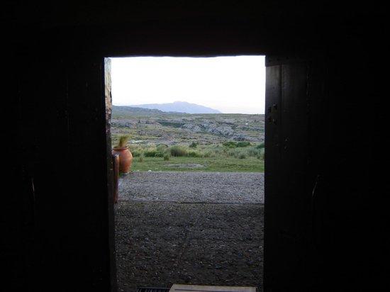 La Posta del Cóndor: la mejor vista...el cerro Champaquì