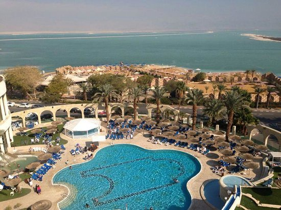 Daniel Dead Sea Hotel: our view from the room