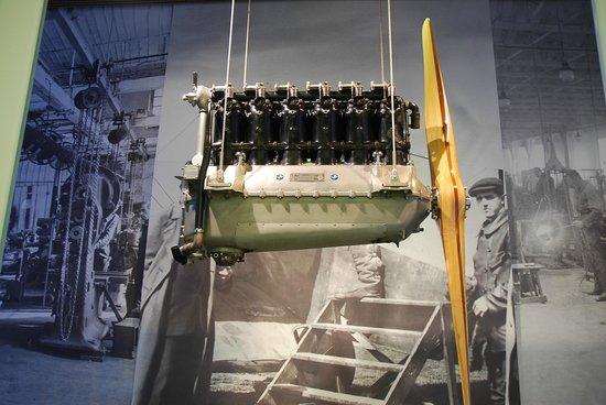 Museo BMW: Музей БМВ - авиационный двигатель