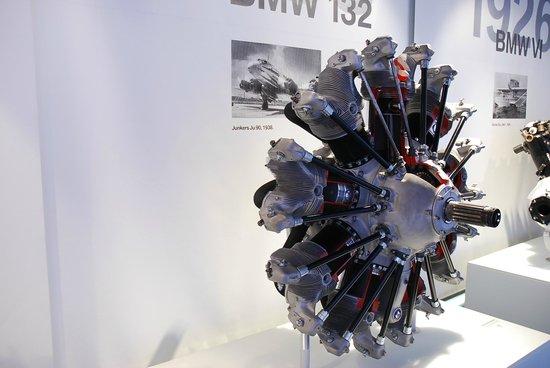 Museo BMW: Музей БМВ - звездообразный авиационный двигатель