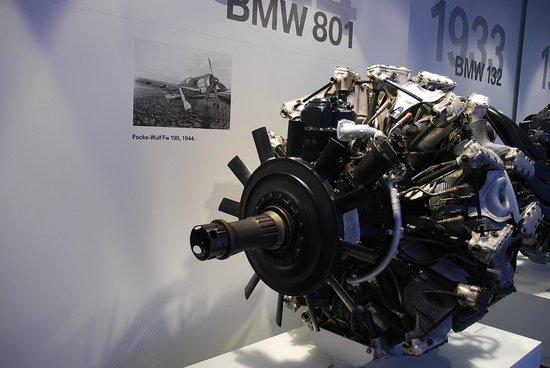 Museo BMW: Музей БМВ -  двигатель Фокке-Вульфа