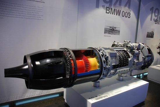 Museo BMW: Музей БМВ - первый реактивный двигатель