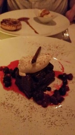 MAX Amsterdam: OMG , it was heaven...shame i forgot the name of this pudding