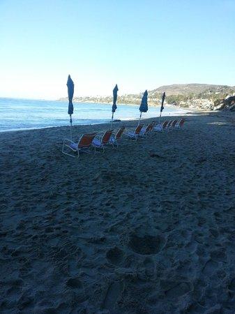 Pacific Edge on Laguna Beach, a Joie de Vivre Hotel: Beach area