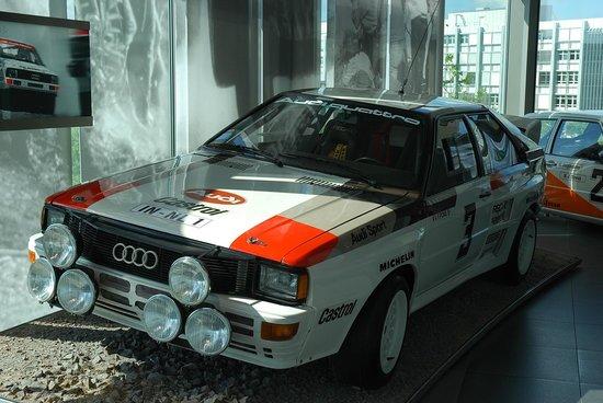 Audi Museum: Музей Ауди