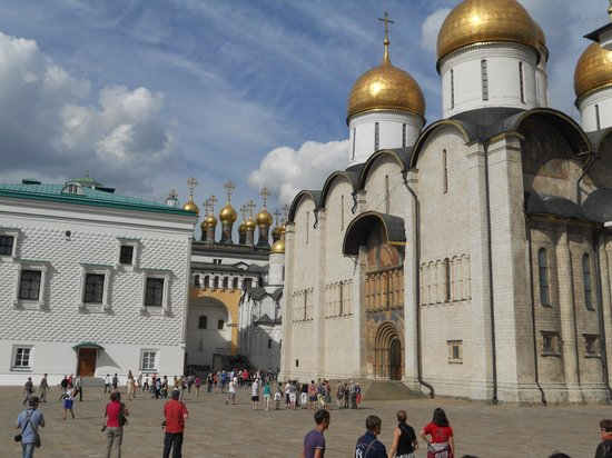 Cathedral of the Assumption (Uspensky Sobor) : veduta esterne del Duomo della Dormizione