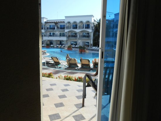 The Royal Playa del Carmen : Our room view