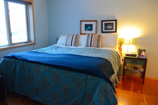 "Bayside Bed & Breakfast: The room ""Willows"" on the 2nd floor"
