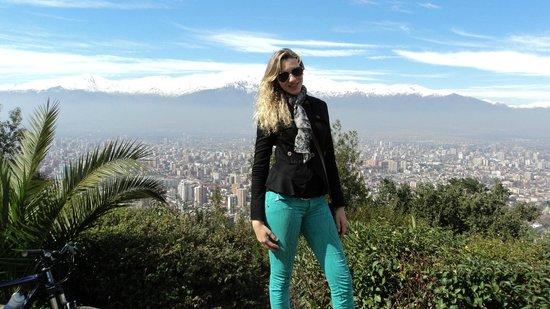 Parque Metropolitano de Santiago - Parquemet : Cerro