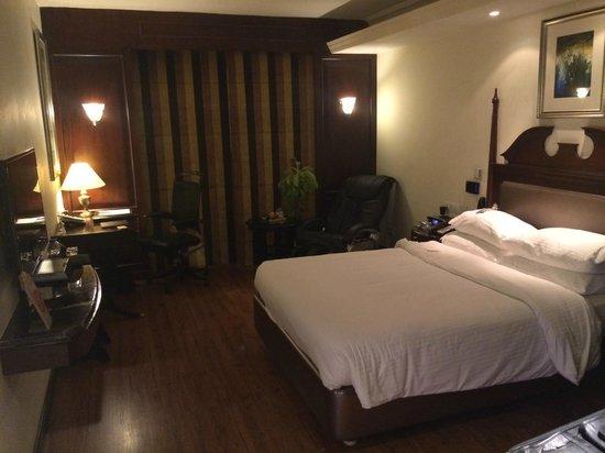 "Radisson Blu Hotel Chennai : the ""double bed"""