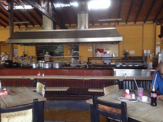 EL Rancherito: Cocina limpia