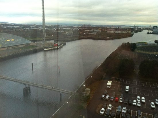 Crowne Plaza Glasgow: View from room 14008