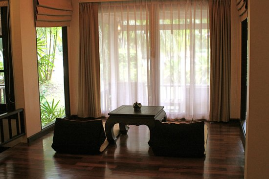 Mukdara Beach Villa and Spa Resort: the living room of Garden Villa No. 2137