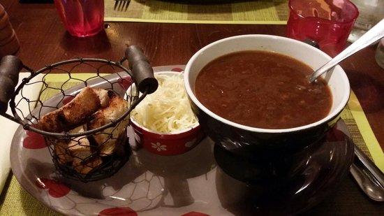 Restaurant L'Alpin: Soupe à l'oignon
