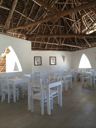 Dhow Inn: L'un des 2 restaurants, au premier étage